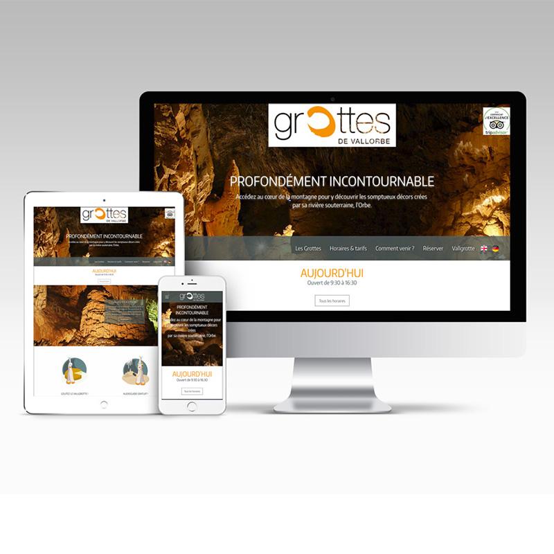Grottes de Vallorbe - Site WEB