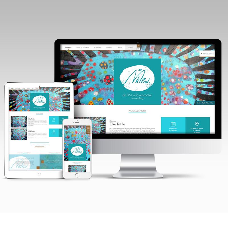 Site web de MK Prod.