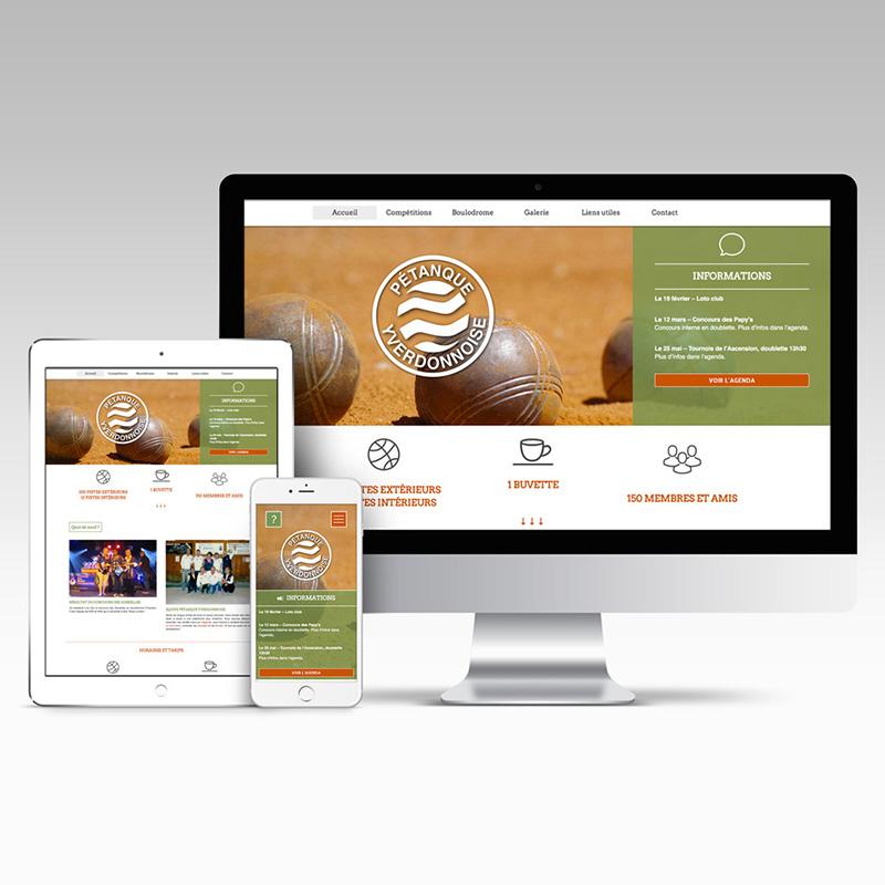 Site web de la pétanque à Yverdon
