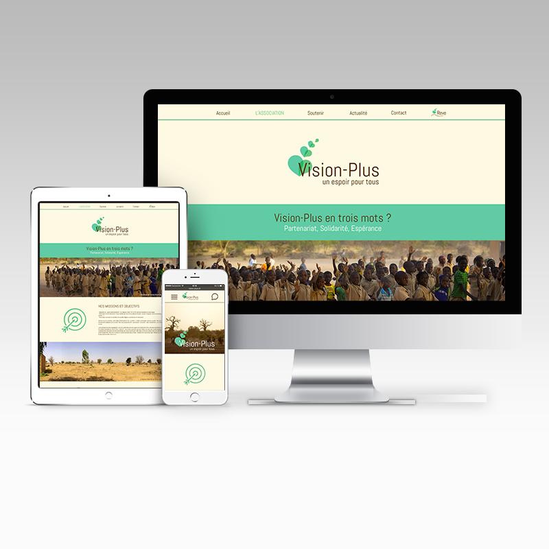 Vision Plus - Site humanitaire