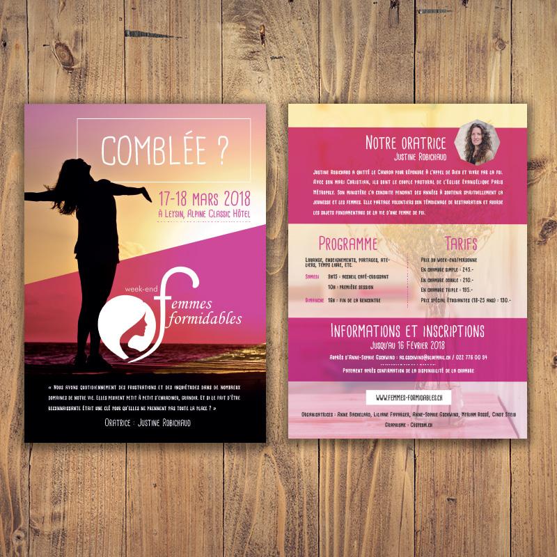 Flyer féminin cosycom