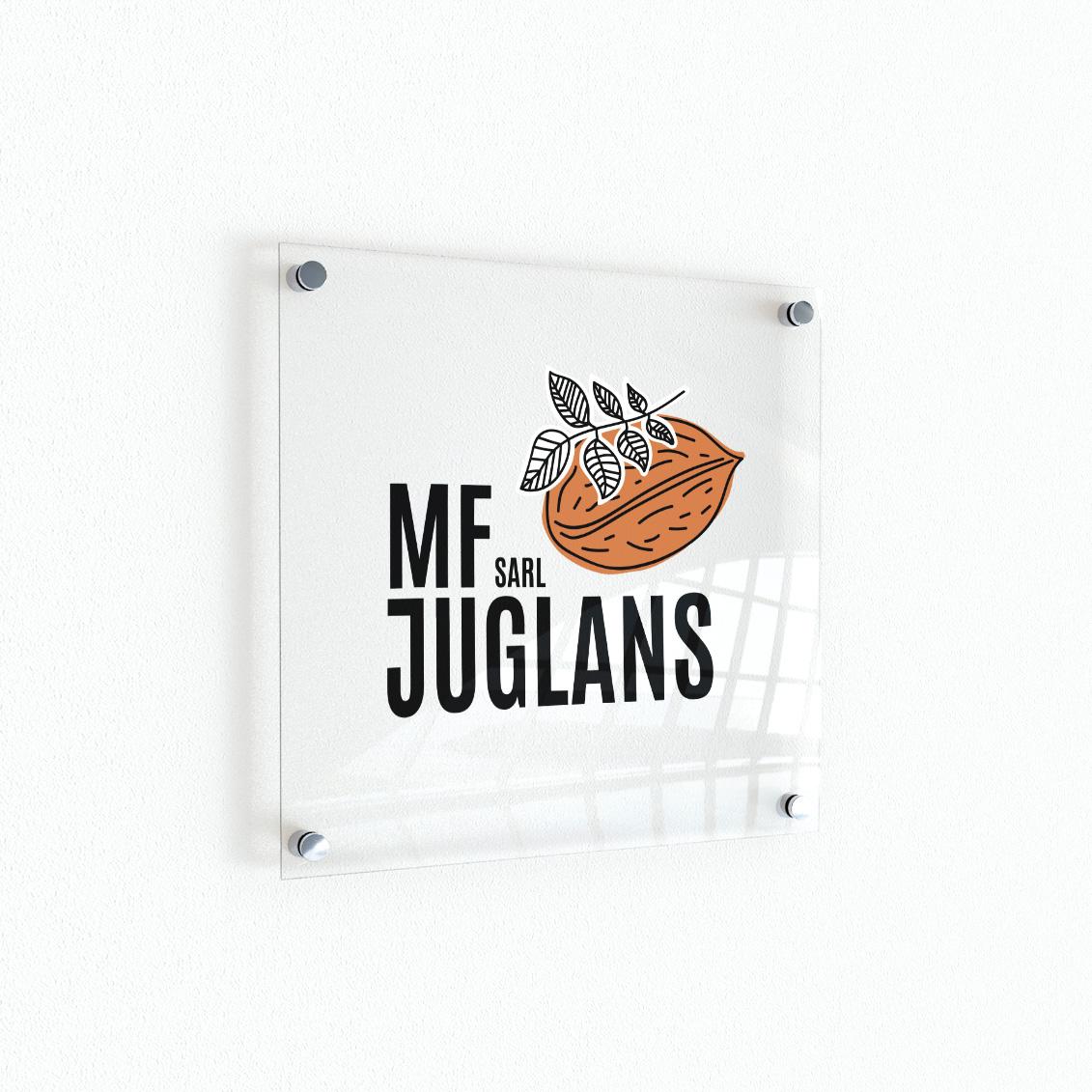 Logo MF Juglans, entreprise d'importation de noyers
