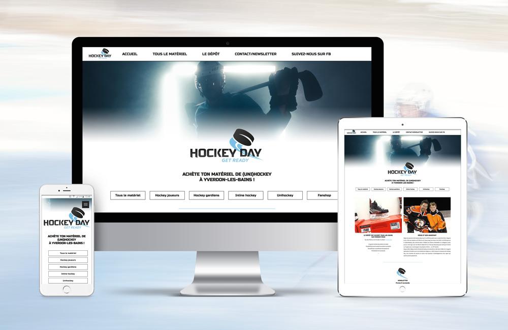 Site web de matériel de Hockey